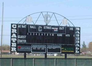 Anhorn Field Scoreboard