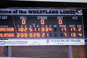 NW Regionals Scoreboard